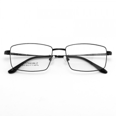 SY 1876 latest Titanium Glasses Frame Optical Classic Men Full-framed Glasses Business Metal Eyeglasses Frame