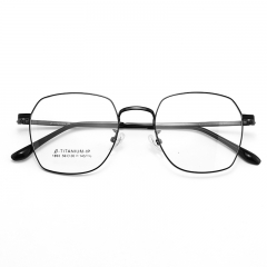 SY-1893 Wholesale Retro Round Thin Frame Titanium Alloy Glasses High Quality Trendy Optical Spectacles