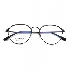 SY-1874 Custom Made Prescription Eyeglass Executive Optical Glasses With Titanium Frame Eyewear
