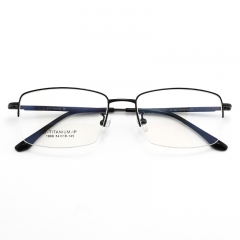 SY-1866 High Quality Stock Titanium Glasses Frame Pure Optical