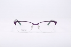 YXA0028-SK High Quality Metal Optical Colorful Spectacle Glasses Women Eyeglass Frames