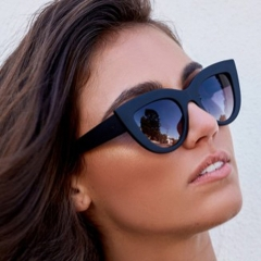 New product 2020 wholesale sunglasses brand designer promotion fashion cat sunglasses
